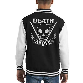 Starship Troopers Death Above Kid's Varsity Jacket
