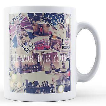 The World Is Yours - Mug imprimé
