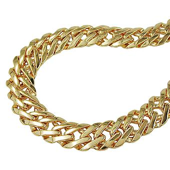 Fantasy chain 55cm gold plated