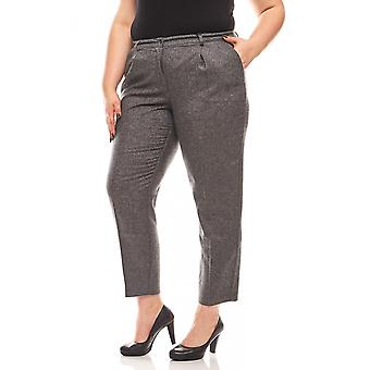 B.C.. best connections carrot pants in the glamour look plus size grey