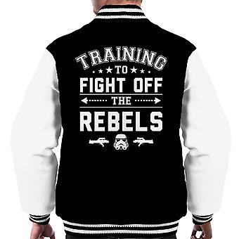 Original Stormtrooper-Ausbildung zum Kampf gegen Rebellen Männer Varsity Jacket