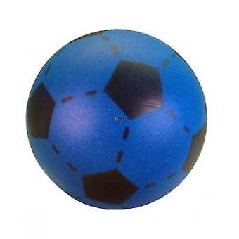 Softball (foam rubber) 20 cm football print