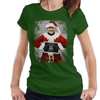 Christmas Mugshot Del Boy Women's T-Shirt
