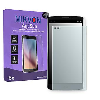 LG V10 (H961N) Screen Protector - Mikvon AntiSun (Retail Package with accessories)