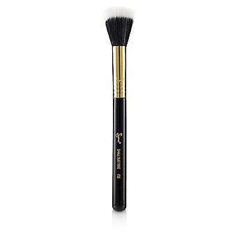 Sigma Beauty F55 kleine Duo Fibre Pinsel - # schwarz / 18K Gold--