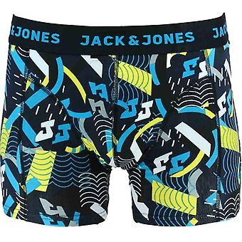 Jack & Jones Cotton Stretch Single Pack Trunk JACSTREAM, Blazing Yellow, Large