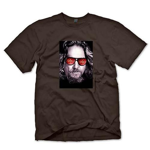 Mens T-shirt - Bridges - Big Lebowski - Glasses
