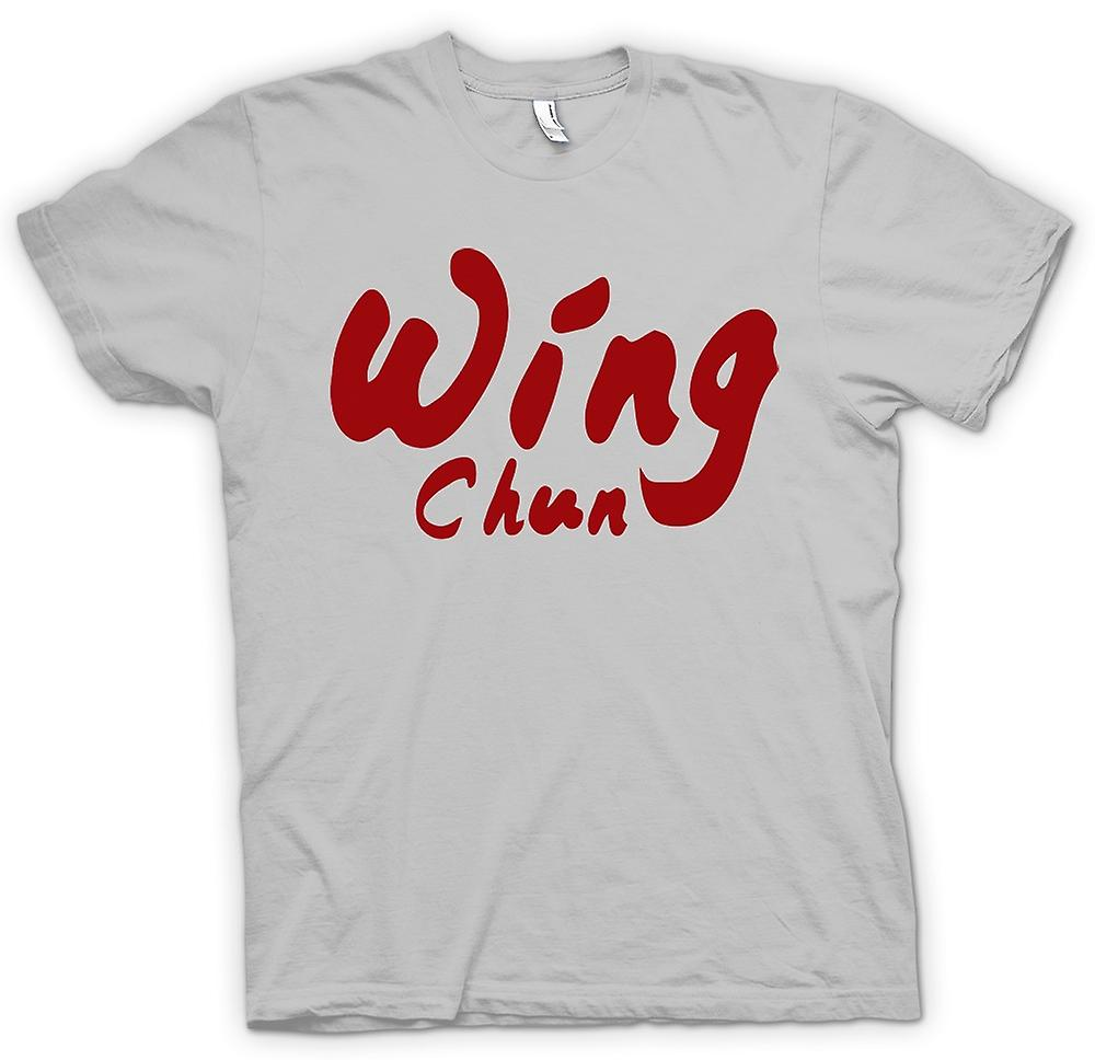 Mens T-shirt - Wing Chun - Martial Art - Slogan