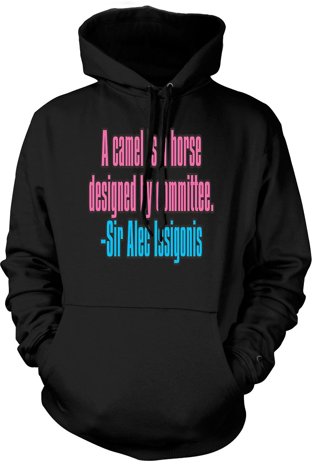 Mens Hoodie - A Camel Is A Horse Quote - Sir Alec Issigonis