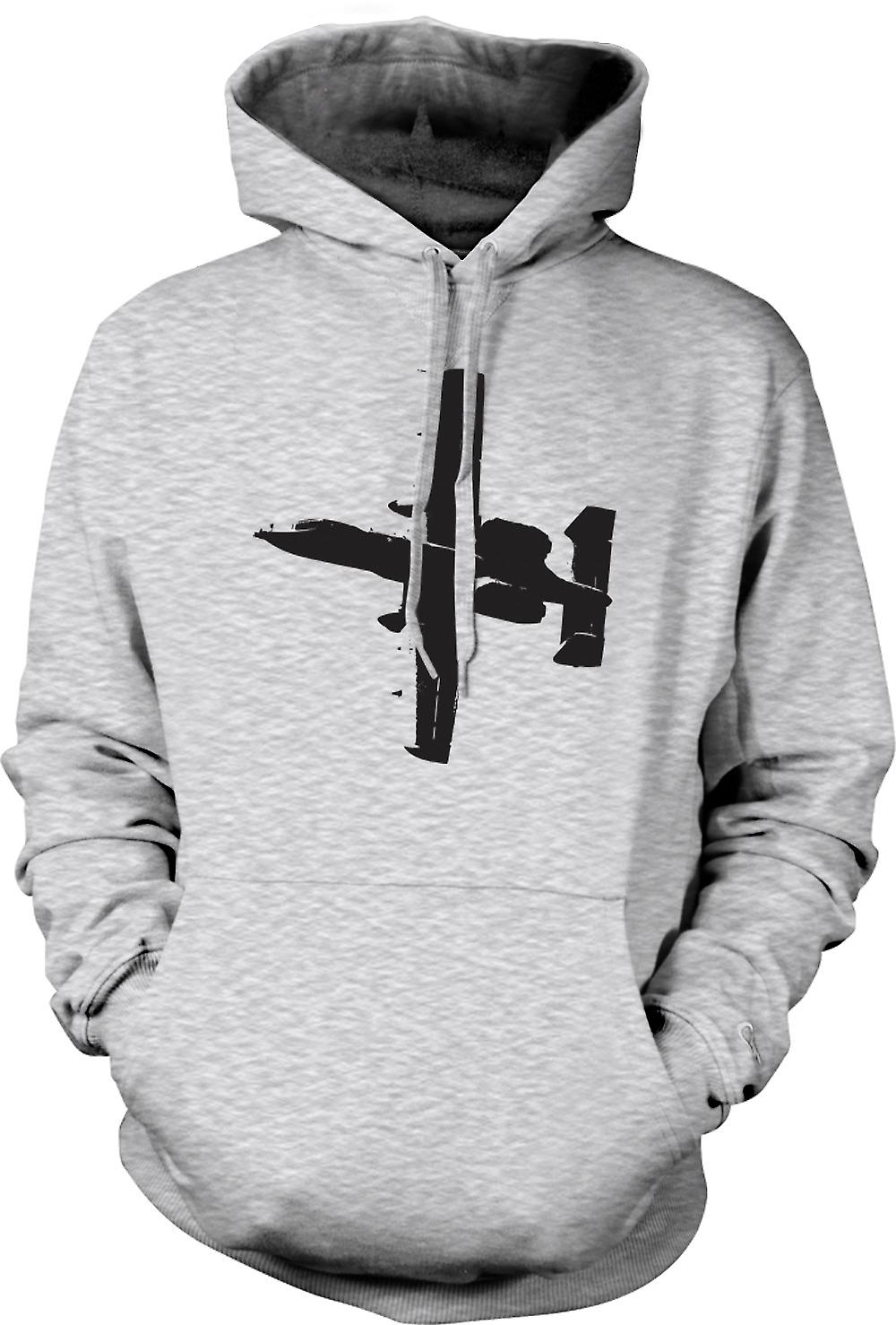 Mens Hoodie - A10 Thunderbolt réservoir Buster - Super Fighter
