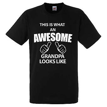This Is What An Awesome Grandpa Looks Like Tshirt