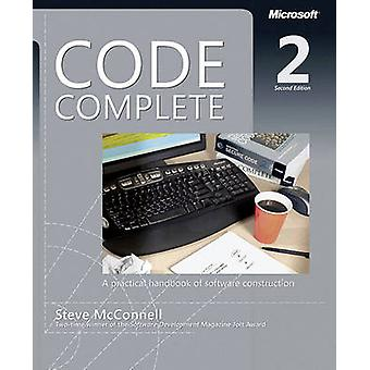 Code Complete - A Practical Handbook of Software Costruction (2nd Revi