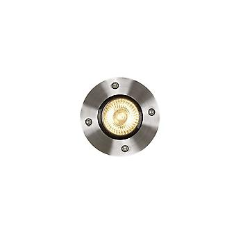 Cetim de alumínio redondas modernas lucide Biltin cromo luz de convés