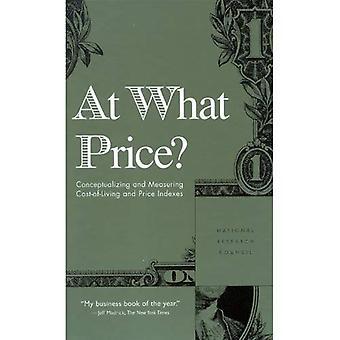 ¿A qué precio?: conceptualización y medición de costo de la vida y los índices de precios
