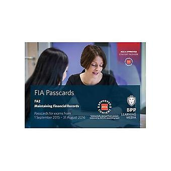 FIA Maintaining Financial Records FA2: Passcards