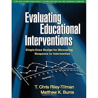 Evaluatie van educatieve interventies