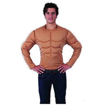 Orion Costumes Mens Muscle Man Chest Top Rude Superhero Stag Do Fancy Dress
