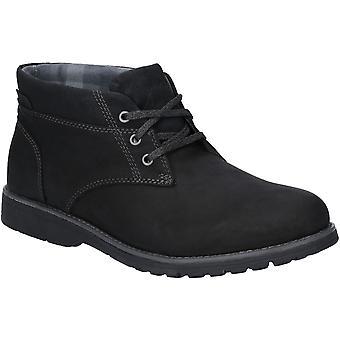 Hush Puppies Mens Beauceron Plain Toe Lace Up Chukka Boots
