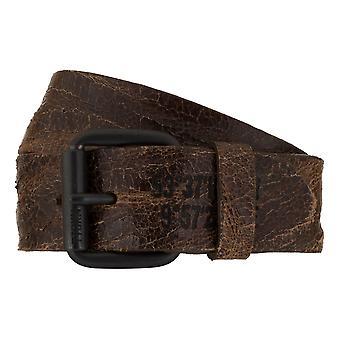 TOM TAILOR belt leather belts men's belts jeans belt Brown 7804