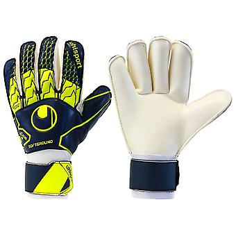 UHLSPORT SOFT ROLL FINGER JUNIOR Goalkeeper Gloves