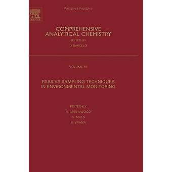 Passive Sampling Techniques in Environmental Monitoring by Greenwood & Richard