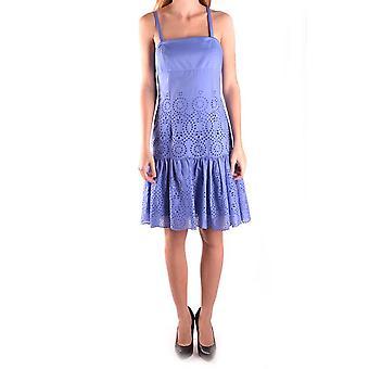 Pinko Blue Cotton Dress