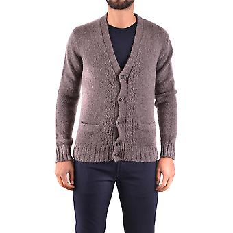 Marc Jacobs Brown Wool Cardigan