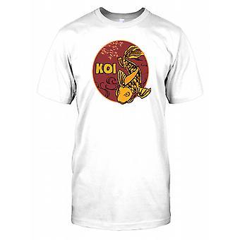 Koi karper - oranje Kids T Shirt