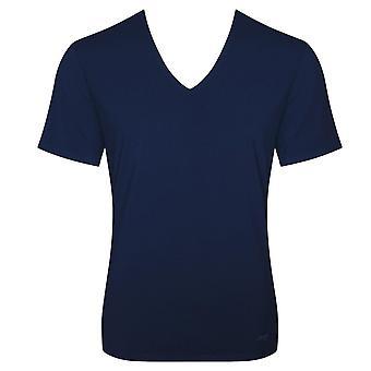 Sloggi noll känsla V-Neck T-shirt - blå