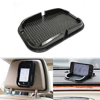 Antiglidmatta/Mobile Phone Holder/Anti-slip Mat With Rims (Black)