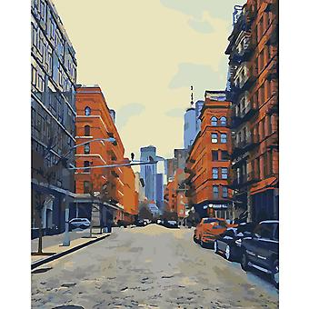 Artventura Brooklyn Stretched Canvas Extra Large Paint By Numbers
