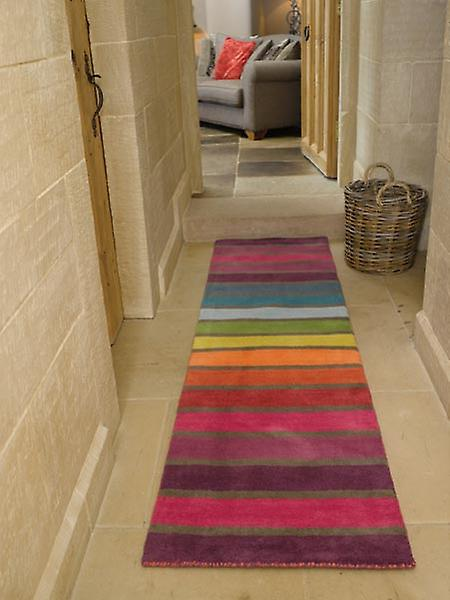 Rugs - Illusion Candy - Multi Coloured Stripes