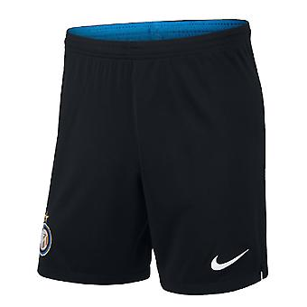2019-2020 Inter Milan Home Nike Football Shorts (Kids)