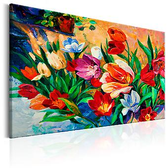 Canvas Print - Art of Colours: Tulips