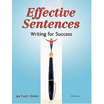 Effektiva meningar: Skriva för framgång