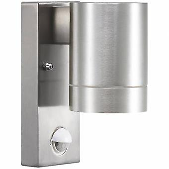 1 Light Outdoor Cylinder Small Downlight Aluminium With Sensor Ip54