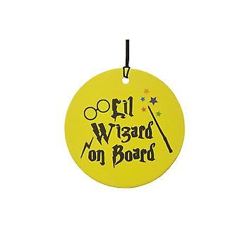 Lil Wizard On Board Car Air Freshener