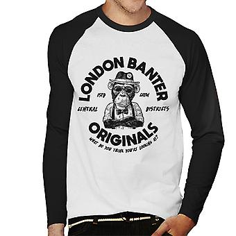 London Banter Originals Daper Ape Men's Baseball Long Sleeved T-Shirt