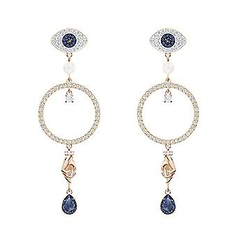Boucles d'oreilles Swarovski Pendulum et chute Gold-plated woman - 5500642