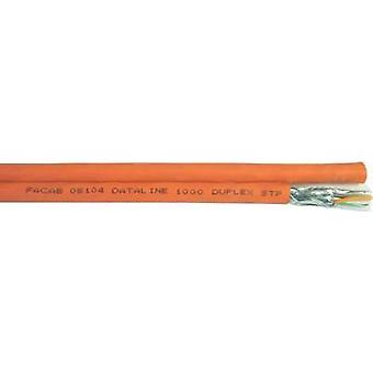 Red cable S/FTP 8 x 2 x 0,25 mm² naranja Faber Kabel 101196 100 m