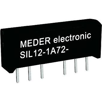 Reed relay 1 maker 5 Vdc 1 A 15 W SIL 4 StandexMeder Electronics