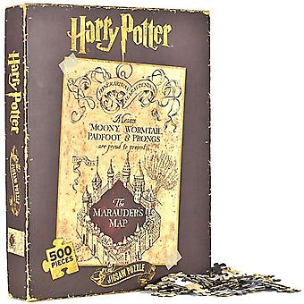 Harry Potter Marauders kaart 500 stukjes puzzel 500 x 350 mm (hb)