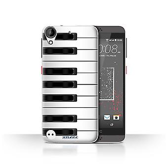 STUFF4 Case/Cover for HTC Desire 630/Piano/Keys/Buttons