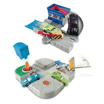 Hot Wheels Playsets Basicos (Toys , Vehicles And Tracks , Parking And Circuits)