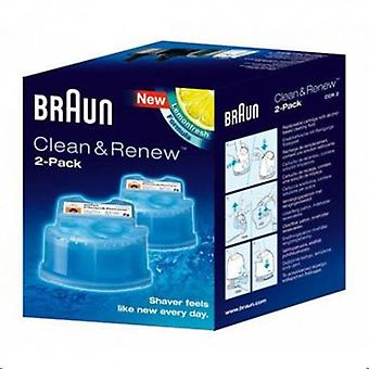Braun CCR2 cleaning liquid for shavers