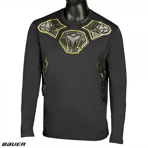 BAUER padded goalie LS base layer top senior