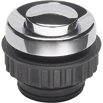 Bell button 1x Grothe 62054 Chrome 24 V/1,5 A