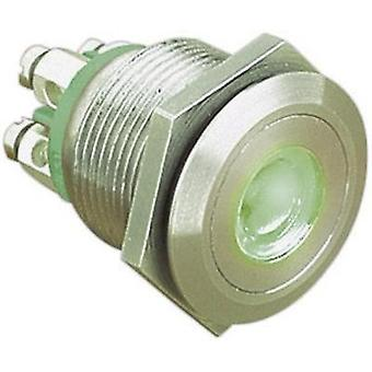 Tamper-proof pushbutton 24 Vdc 0.05 A 1 x Off/(On) ESKA Bulgin MPI001/TERM/GN IP66 momentary 1 pc(s)