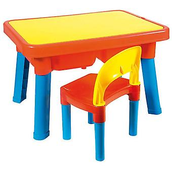 Unico Plus Multijuegos With Children table chair