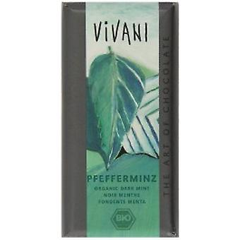 Vivani - Organic Peppermint Filled Dark Chocolate